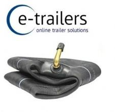 "8"" INNER TUBE-  BENT METAL VALVE -  TRAILER WHEELBARROW - 3.50-8 4.00-8 400x8 4.80/4.00-8 DELI BRAND"